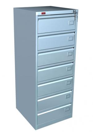 Шкаф металлический картотечный КР - 7