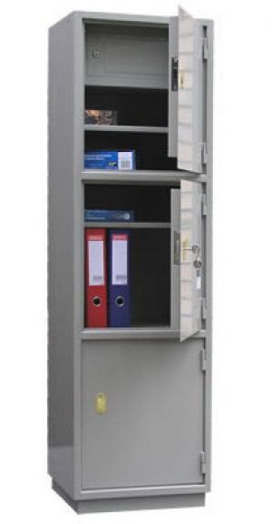 Шкаф металлический бухгалтерский КБ - 033т / КБС - 033т